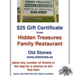Hidden Treasures Gift Certificate