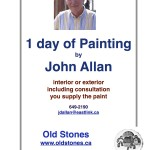 John Allan House Painting