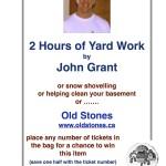 John Grant Yard Work