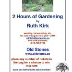 Ruth Kirk Gardening