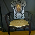 Antique Chair with hand painting